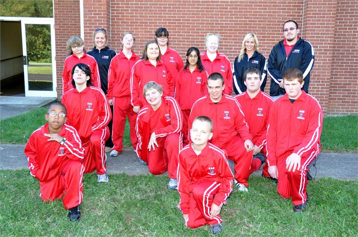 2012-13 Girls & Boy Track Team and Coaches