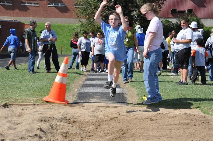 Roby Games:  Long jump!