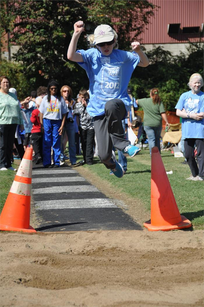 Roby Games: Long Jump Event